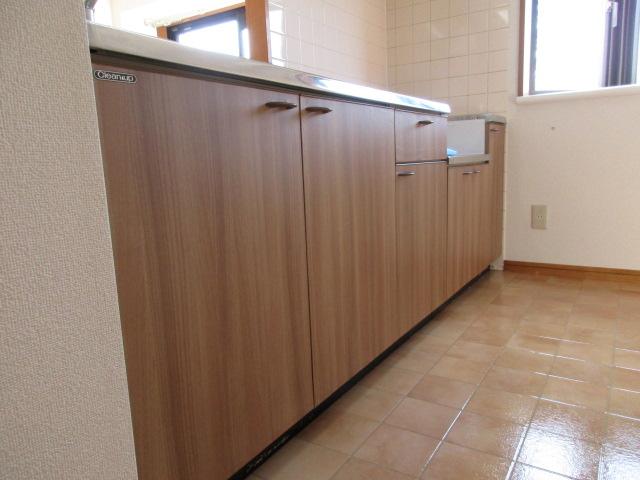 キッチン 扉 シート施工後