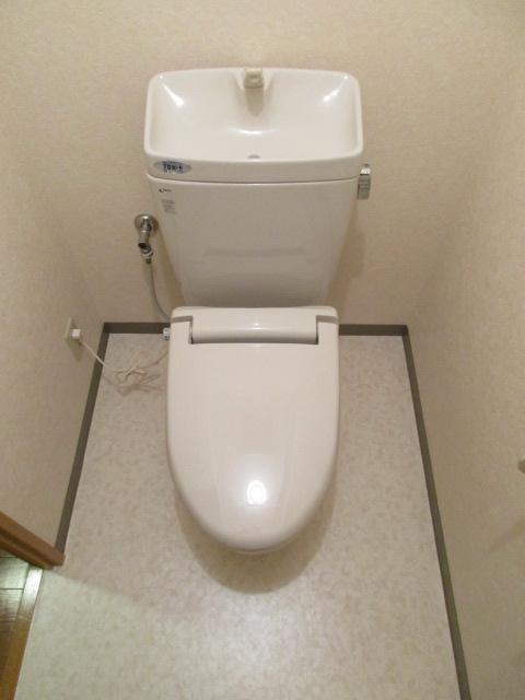トイレ CF張替え後